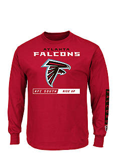 Majestic Atlanta Falcons Primary Receiver Graphic Tee