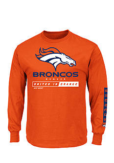Majestic Denver Broncos Primary Receiver Graphic Tee