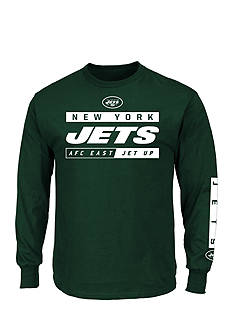 Majestic New York Jets Primary Receiver Graphic Tee