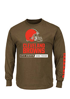 Majestic Cleveland Browns Primary Receiver Graphic Tee