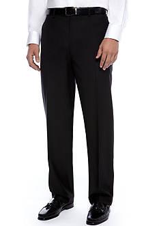 Louis Raphael Hidden Expansion Waistband Flat Front Pants