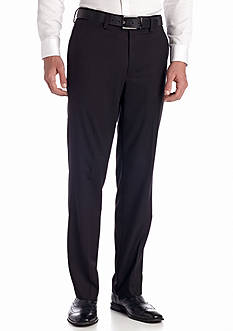 Louis Raphael Louis Raphael Tailored Herringbone Flat Front Pants