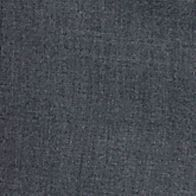 Men: Louis Raphael Pants: Mid Gray Louis Raphael Straight Fit Flat Front Dress Pants
