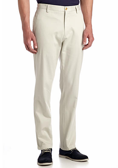 Louis Raphael Straight Fit Khakis