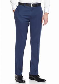 Louis Raphael Classic Flex Comfort Flat Front Pants
