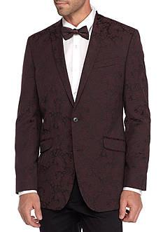 Kenneth Cole Burgundy Dinner Jacket
