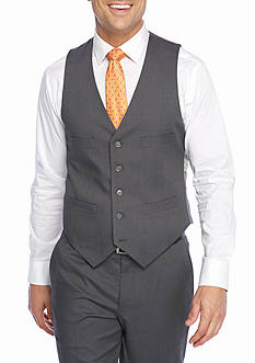 Kenneth Cole Reaction Techni-Cole Stretch Slim-Fit Vest