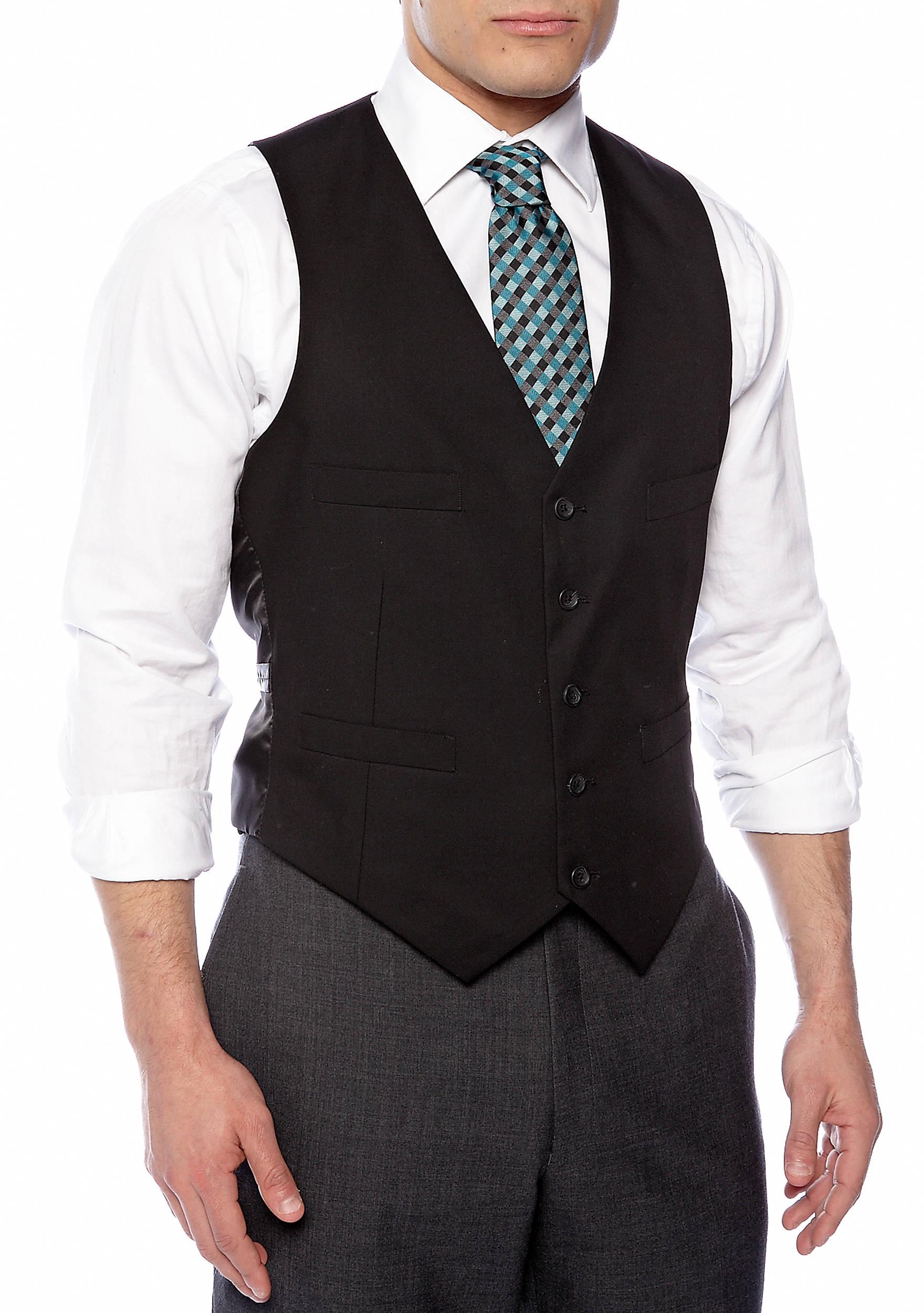 Kenneth Cole Reaction Slim Fit Suit Separate Vest | belk