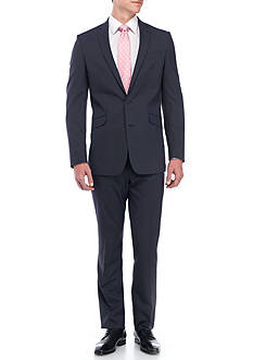 Kenneth Cole Reaction Tonal Check Suit