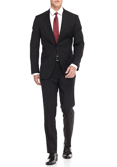 Kenneth Cole Slim-Fit Stripe Suit