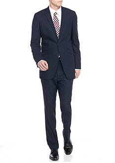 Kenneth Cole Reaction Slim-Fit Check Suit