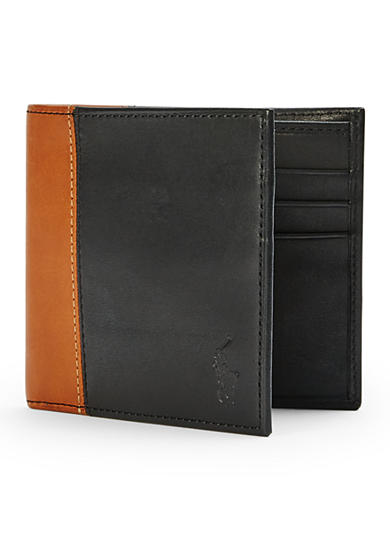 Polo Ralph Lauren Two-Toned Leather Billfold