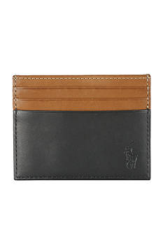 Polo Ralph Lauren Two-Toned Leather Card Case