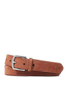 Lauren Ralph Lauren Leathergoods Suede Dress Belt