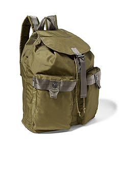 Lauren Ralph Lauren Leathergoods Military Nylon Backpack