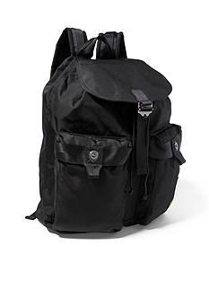 Lauren Ralph Lauren Leathergoods Military Nylon Backpack