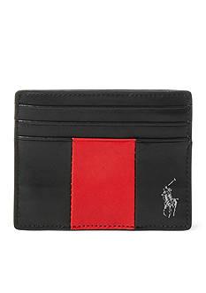 Polo Ralph Lauren Racing Stripe Card Case