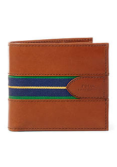 Lauren Ralph Lauren Grosgrain-Striped Billfold