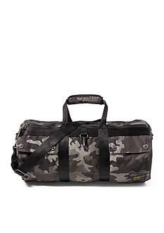 Lauren Ralph Lauren Camo-Print Military Duffel Bag