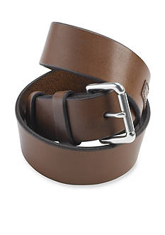 Polo Ralph Lauren Big & Tall Saddle Logo Patch Leather Belt