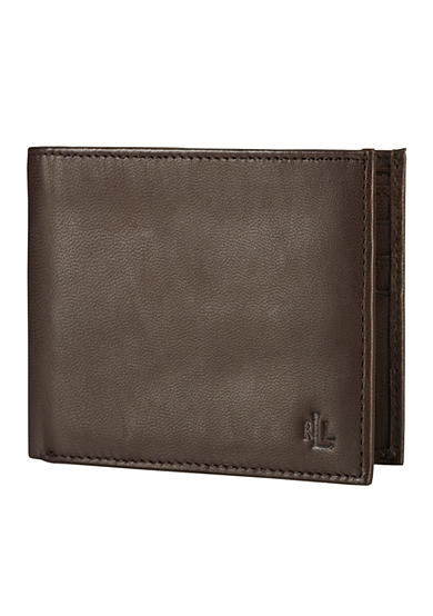 Lauren Ralph Lauren Brown Burnished BiFold<br>