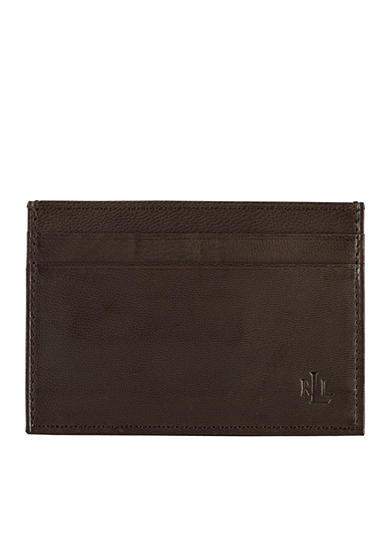 Lauren Ralph Lauren Burnished Brown Money Clip
