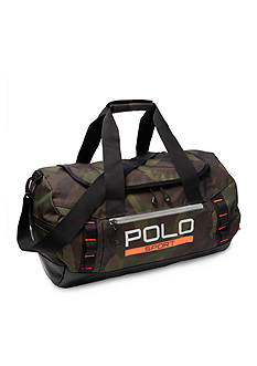 Polo Sport Camo Duffel Bag