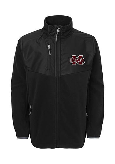 Outerstuff® Mississippi State Bulldogs Tactical Polar Full Zip Fleece Jacket