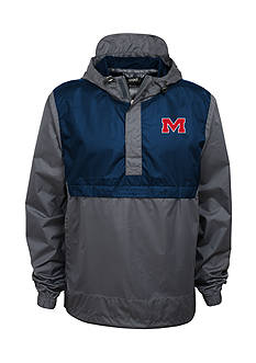 Outerstuff Ole Miss Rebels Quarter Zip Jacket