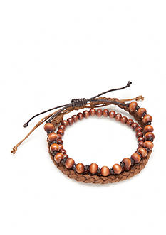 Madison Dane Brown Wooden Bracelet
