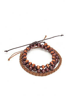 Madison Dan Brown Wooden Bracelets