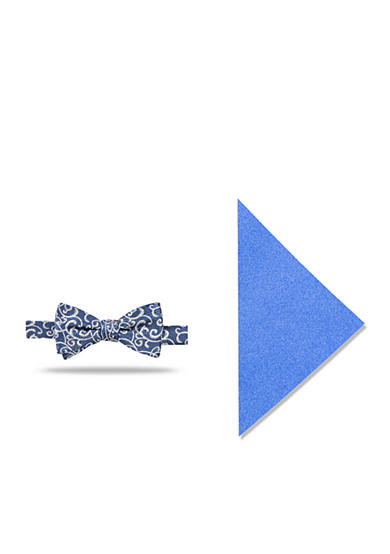 Madison Isa Vine Bowtie/Pocket Square Set
