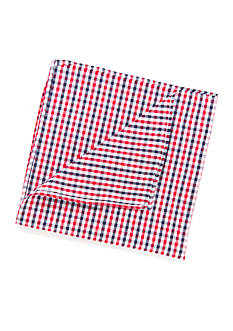 Madison Gingham Pocket Square