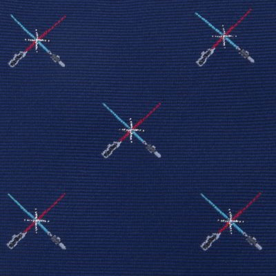 Mens Ties: Novelty: Light Saber Duel Bowtie Tuesday Star Wars™ Tie
