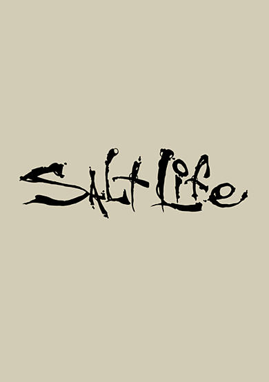 Salt Life Signature Decal - Small