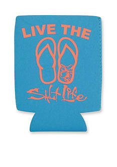 Salt Life Livin' In Sandals Koozie