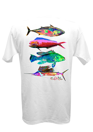 Salt Life Short Sleeve Psychofin Graphic Tee