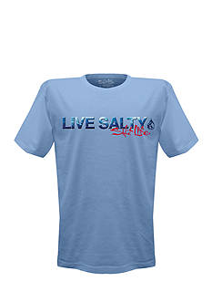 Salt Life Short Sleeve Live Salty Water Graphic Tee