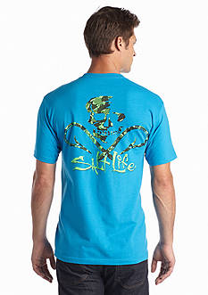 Salt Life Hooked Skull Short Sleeve Shirt