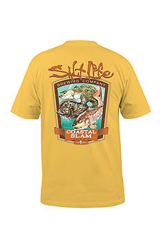Salt Life Coastal Slam Short Sleeve Graphic Pocket Tee
