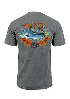Salt Life Short Sleeve Mahi Getaway Graphic Tee