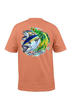 Salt Life Short Sleeve Tuna Lure Graphic Pocket Tee