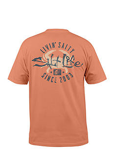 Salt Life Salty Crab Short Sleeve Graphic Tee