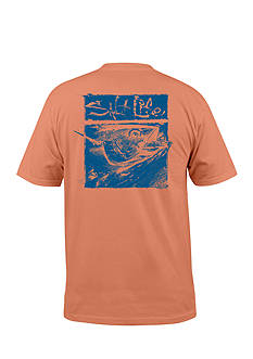 Salt Life Squared Tuna Graphic Tee