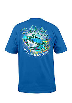 Salt Life Short Sleeve Life By The Claws Graphic Tee