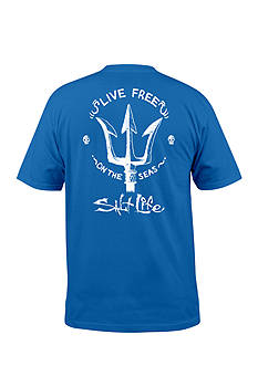 Salt Life Live Free Graphic Tee