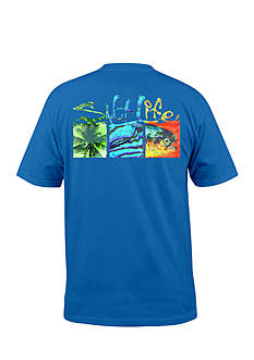 Salt Life Short Sleeve Trippy Boxes Graphic Tee