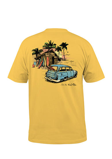 Salt Life Board Shack Graphic Tee