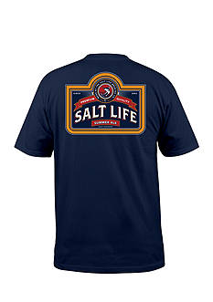 Salt Life Brewing Company Pocket Tee