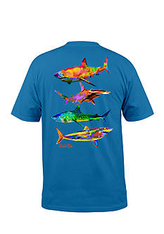 Salt Life Short Sleeve Psycho Shark Graphic Tee